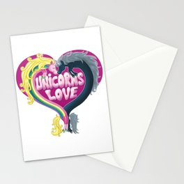 Unicorns Love Stationery Cards