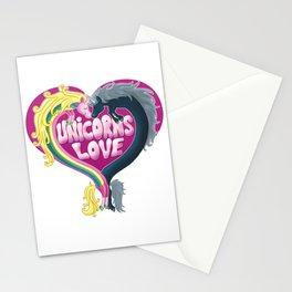 Unicorns Love Stationery Cards