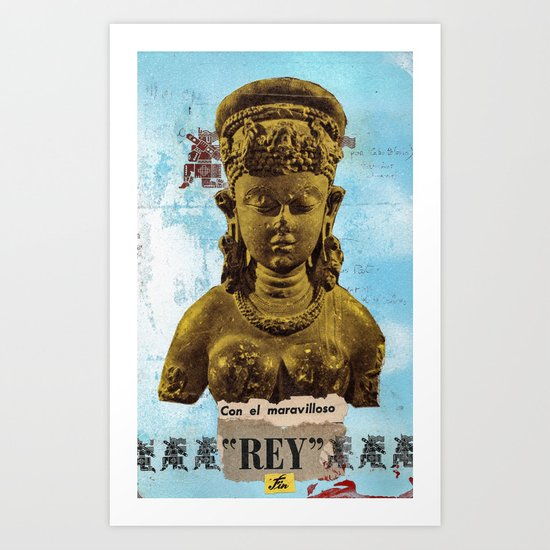 El Maravilloso Rey Art Print