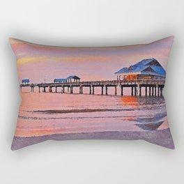 Pier 60, Clearwater Beach Rectangular Pillow