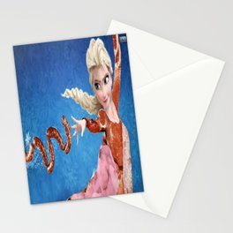 Meat Elsa Stationery Cards