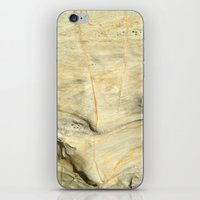 stone iPhone & iPod Skins featuring Stone by Uyen Ly