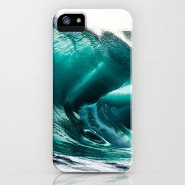 Crystal Clear High Surf - Scarborough Beach, Narragansett, Rhode Island iPhone Case