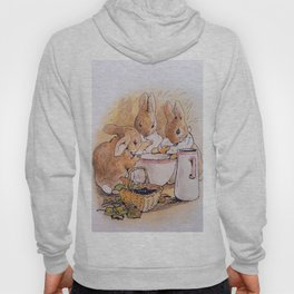 Peter Rabbit with his parents Hoody
