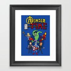Avenger Time Framed Art Print