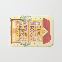 Lived in books Bath Mat