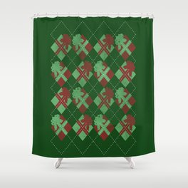 it's all about the presents Shower Curtain