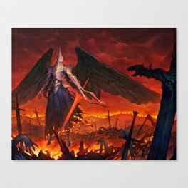 Power of the Divines Canvas Print