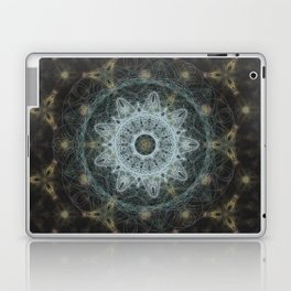 Golden Mandala Web Laptop & iPad Skin