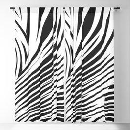 faux zebra Blackout Curtain