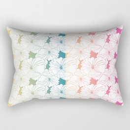 Happy Hibiscus Rectangular Pillow