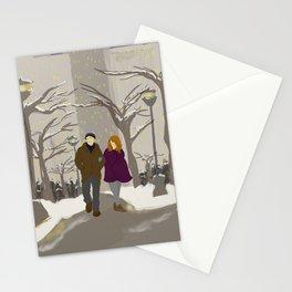 Snowy Stroll Stationery Cards