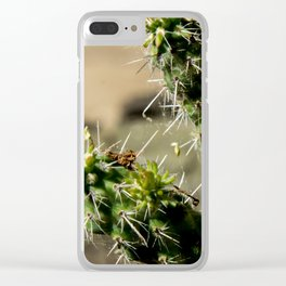 Prickles Clear iPhone Case