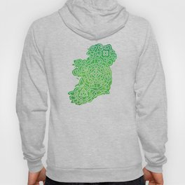 Celtic Map of Ireland Hoody