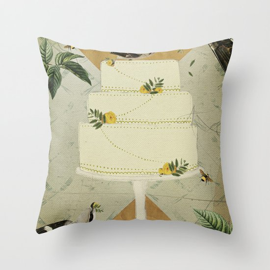Let Them Eat Cake :: I Throw Pillow