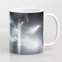 concert Mugs featuring Concert by Anna Mundy