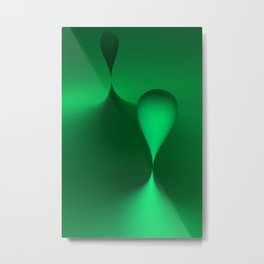 the color green Metal Print