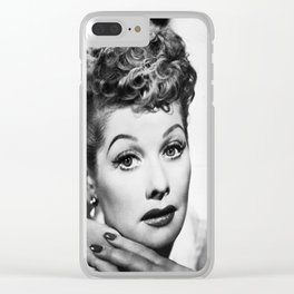Lucille Ball : I Love Lucy Beauty Clear iPhone Case