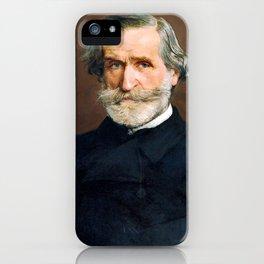 Giuseppe Verdi (1813 – 1901) by Giovanni Boldini (1842 - 1931) iPhone Case