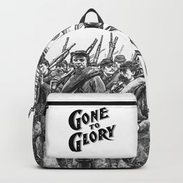 Gone To Glory B&W Backpack