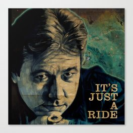 It's Just A Ride Canvas Print