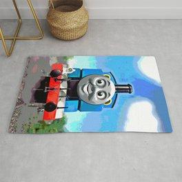 Thomas Has A Smile Rug