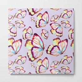 Butterflies flit  Metal Print