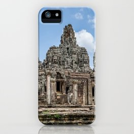 Bayon Temple, Angkor Thom, Cambodia iPhone Case