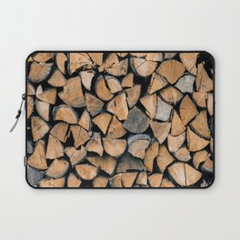 Wood Pile Laptop Sleeve