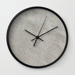 Eco Fabric Wall Clock