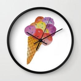 Party Ice Cream Wall Clock