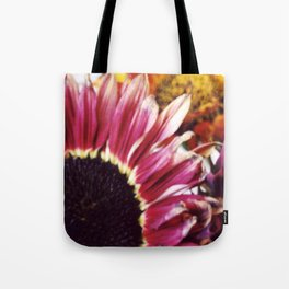Sunflowers Close Up Tote Bag