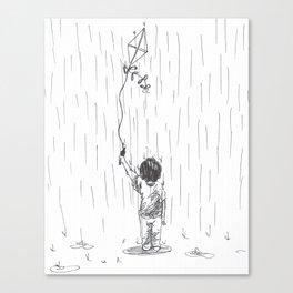 Kite Boy Canvas Print