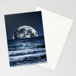 Summer Moonrise Stationery Cards