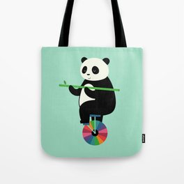 Learn To Balance Your Life Tote Bag