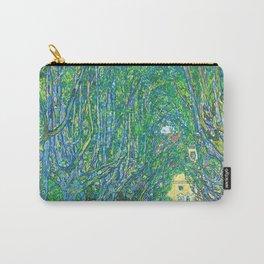 Gustav Klimt - Allee im Park von Schloss Kammer (new editing) Carry-All Pouch