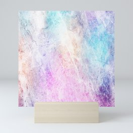 Violet Abstract Mini Art Print