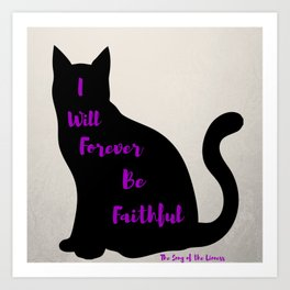 Forever Faithful Art Print