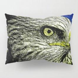Golden Eagle Head Pillow Sham