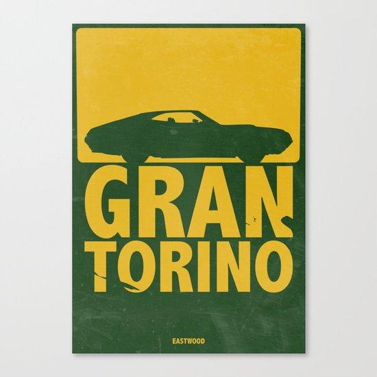 Gran Torino - minimal poster Canvas Print