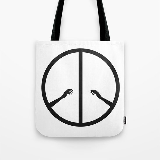Peace struggle Tote Bag