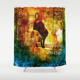 Wishes Duo Shower Curtain
