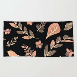 Flower Design Series 20 Beach Towel