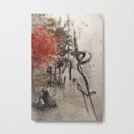 bottled fire Metal Print