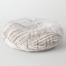 Cinereous abstract watercolor Floor Pillow