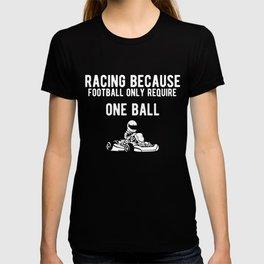 Funny Gokart Racing Car Driver Graphic T-shirt
