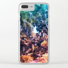 Acid Tropics Clear iPhone Case