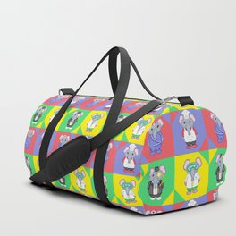 Elephant Career Costume Print 2 Duffle Bag