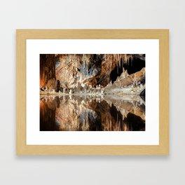 """Cave (""""Fairy Kingdom,"""" the Saalfeld Fairy Grottoes) Framed Art Print"""