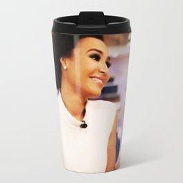 Naya Rivera Metal Travel Mug